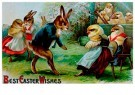 A.N.B.  -  Best easter wishes - Postcard -  1C1657-1