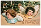 A.N.B.  -  Best wishes for a happy new year - Postcard -  1C1681-1