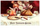 Anonymous  -  Hearty thanksgiving greetings - Postcard -  1C1690-1