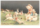 A.N.B.  -  Easter joy attend you - Postcard -  1C1745-1