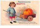 Anonymous  -  Thanksgiving greeting - Postcard -  1C1749-1