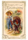 Anonymous  -  A happy thanksgiving - Postcard -  1C2052-1