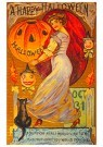 Anonymous  -  A happy halloween - Postcard -  1C2062-1