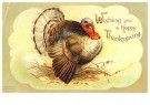 Anonymous  -  Wishing you a happy thanksgiving - Postcard -  1C2140-1