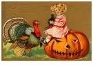 A.N.B.  -  A joyous thanksgiving - Postcard -  1C2144-1