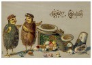 A.N.B.  -  Easter greeting - Postcard -  1C2178-1