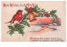 A.N.B.  -  Best wishes for the new year - Postcard -  1C2179-1