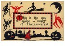 A.N.B.  -  This is the day to make a night of halloween - Postcard -  1C2190-1