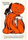 A.N.B.  -  Halloween greetings - Postcard -  1C2222-1
