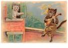 A.N.B.  -  Een kat speelt muziek - Postcard -  1C2236-1