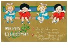 Anonymous  -  Merry Christmas - Postcard -  1C2311-1