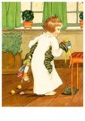 A.N.B.  -  Meisje met kerstcadeaus - Postcard -  1C2315-1