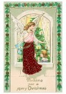 Anonymous  -  Wishing you a merry christmas - Postcard -  1C2322-1