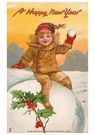 Anonymous  -  A happy new year - Postcard -  1C2354-1