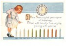 A.N.B.  -  A new year, a glad year, a year of happiness - Postcard -  1C2355-1