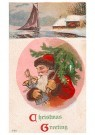 A.N.B.  -  Christmas greeting - Postcard -  1C2358-1