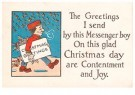 A.N.B.  -  Christmas greetings - Postcard -  1C2363-1
