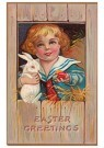 A.N.B.  -  Easter greetings - Postcard -  1C2370-1