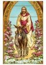 A.N.B.  -  Jezus op een ezel - Postcard -  1C2388-1