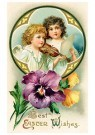 A.N.B.  -  Best easter wishes - Postcard -  1C2410-1