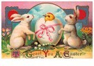 A.N.B.  -  To greet you at easter - Postcard -  1C2444-1