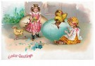 A.N.B.  -  Easter greetings - Postcard -  1C2451-1