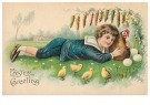 Anonymous  -  Easter greeting - Postcard -  1C2456-1