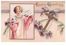A.N.B.  -  Easter greeting - Postcard -  1C2458-1