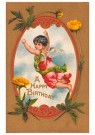 A.N.B.  -  A happy birthday - Postcard -  1C2482-1