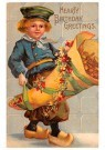 A.N.B.  -  Hearty birthday greetings - Postcard -  1C2484-1