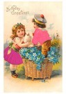 A.N.B.  -  Birthday greetings - Postcard -  1C2487-1