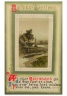 A.N.B.  -  Birthday greetings - Postcard -  1C2488-1