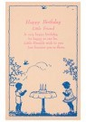 Anonymous  -  Happy birthday little friend - Postcard -  1C2490-1