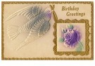 A.N.B.  -  Birthday greetings - Postcard -  1C2493-1