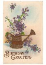 A.N.B.  -  Birthday greeting - Postcard -  1C2494-1