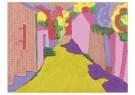 L. Teding van Berkhout (1948)  -  Gele weg, Dordogne - Postcard -  2C0012-1