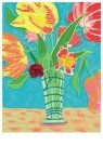 L. Teding van Berkhout (1948)  -  Tulpen in antieke vaas - Postcard -  2C0015-1