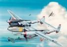 Thijs Postma (1933)  -  Lockheed P-38J Lightning - Postcard -  2C0490-1