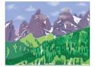 L. Teding van Berkhout (1948)  -  UItzicht op Dents du Midi - Postcard -  2C0663-1