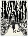 L. Teding van Berkhout (1948)  -  Vrouwtje in het bos - Postcard -  2C0664-1