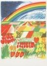 Jan Cremer (1940)  -  Tulip country nr.2 - Postcard -  A0087-1