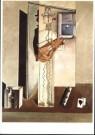 Salvador Dali (1904-1989)  -  Grote harlekijn met fl - Postcard -  A10002-1