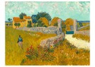 Vincent van Gogh (1853-1890)  -  Farmhouse in Provence, 1888 - Postcard -  A100115-1