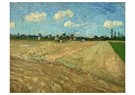 Vincent van Gogh (1853-1890)  -  Ploughed fields ('The furrows'), 1888 - Postcard -  A100343-1
