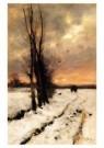 Anton Mauve (1838-1888)  -  Sneeuwlandschap - Postcard -  A10105-1