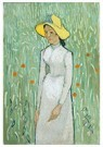 Vincent van Gogh (1853-1890)  -  Girl in White, 1890 - Postcard -  A101340-1