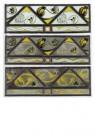 G.W.Dijsselhof (1866-1924)  -  3 Glas in Lood - Postcard -  A10166-1