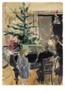 Claire Bonebakker (1904-1979)  -  Kerstfeest - Postcard -  A10197-1