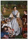 William Holman Hunt (1827-1910 -  The Children's Holiday, 1864-1865 - Postcard -  A102002-1
