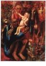 Pavel Filonov (1883-1941)  -  De heilige familie, 1914 - Postcard -  A10313-1